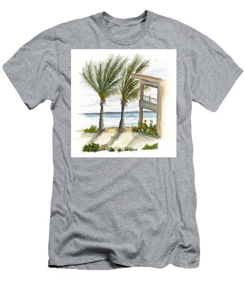 Cayman Hotel Men's T-Shirt (Athletic Fit)