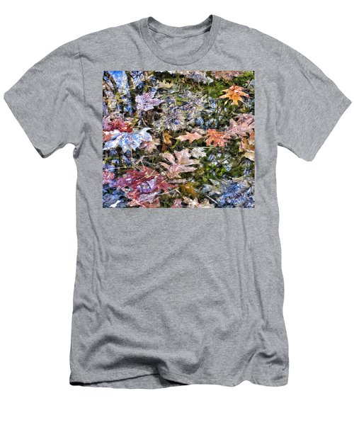 Springtime Reflections Of Falls Past Men's T-Shirt (Athletic Fit)