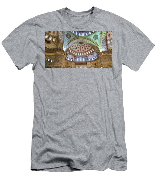 Ceiling Of Blue Mosque Men's T-Shirt (Athletic Fit)