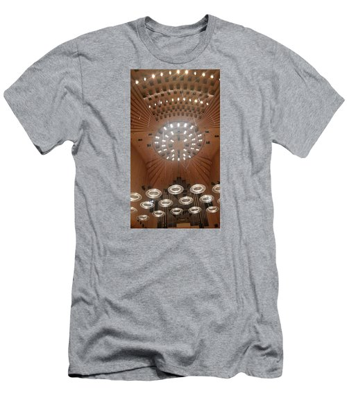 Ceiling Of Syndey Opera House Symphony Hall Men's T-Shirt (Slim Fit) by Bev Conover