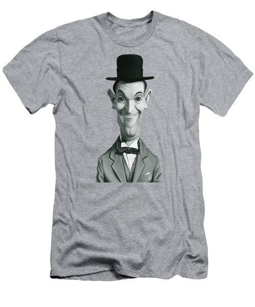 Celebrity Sunday - Stan Laurel Men's T-Shirt (Athletic Fit)
