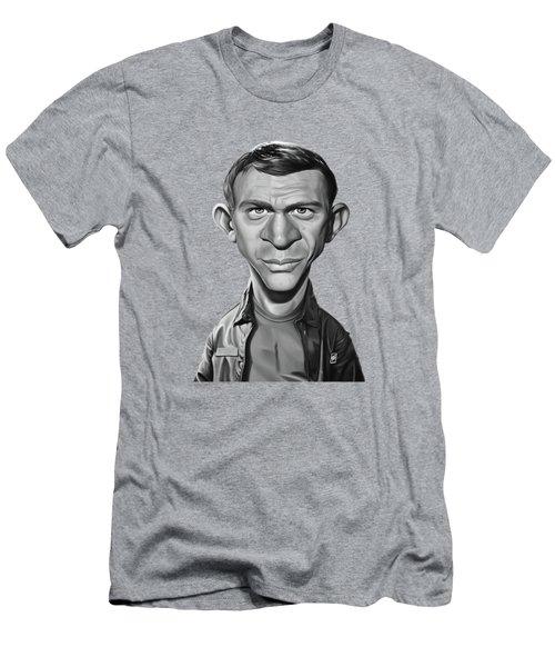 Celebrity Sunday - Steve Mcqueen Men's T-Shirt (Athletic Fit)