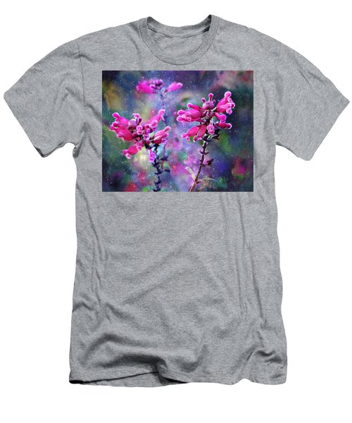 Celestial Blooms-2 Men's T-Shirt (Slim Fit) by Kathy M Krause