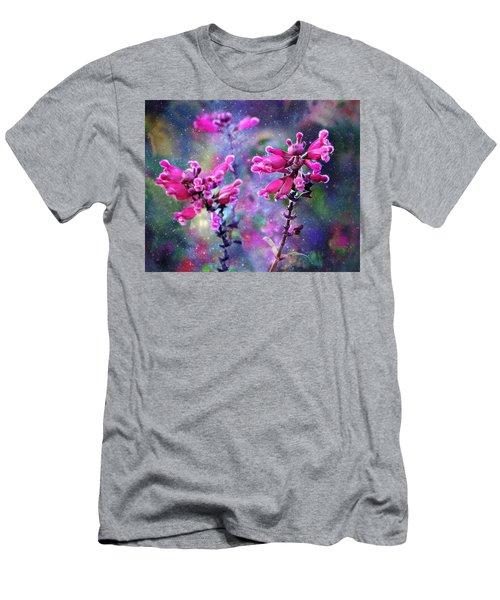 Celestial Blooms-2 Men's T-Shirt (Athletic Fit)