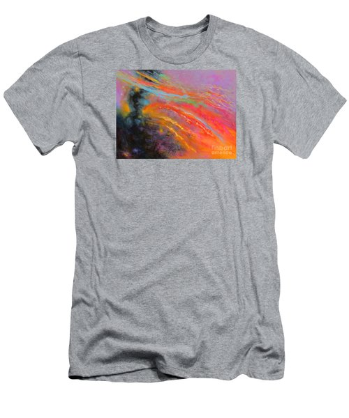 Fantasies In Space Series Painting. Celestial Symphony Men's T-Shirt (Athletic Fit)