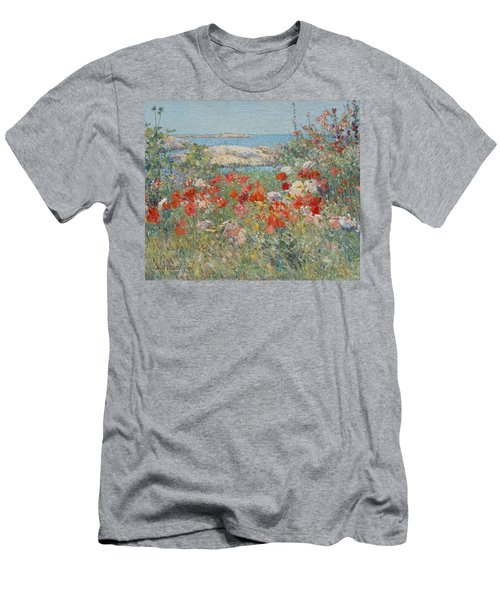 Celia Thaxter's Garden, Isles Of Shoals, Maine Men's T-Shirt (Athletic Fit)