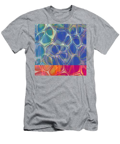 Cell Abstract One Men's T-Shirt (Athletic Fit)