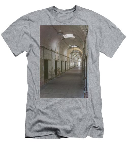 Cellblock Hallway Men's T-Shirt (Athletic Fit)