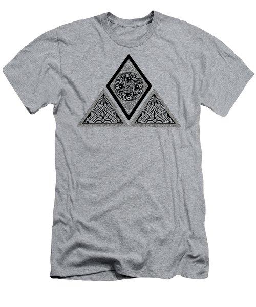 Celtic Pyramid Men's T-Shirt (Athletic Fit)