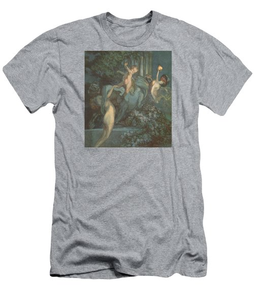 Centaur Nymphs And Cupid Men's T-Shirt (Athletic Fit)