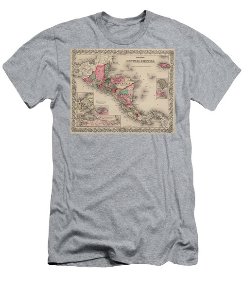 Central America Men's T-Shirt (Athletic Fit)