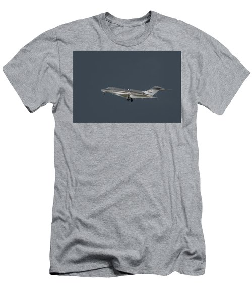 Men's T-Shirt (Athletic Fit) featuring the photograph Cessna 750 N610cg by Guy Whiteley