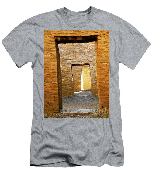 Chaco Canyon Doorways Men's T-Shirt (Athletic Fit)