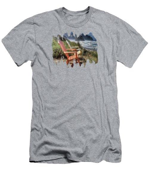 Lets Relax A Little Men's T-Shirt (Athletic Fit)