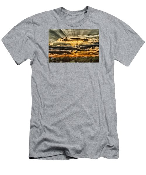 Men's T-Shirt (Slim Fit) featuring the photograph Changes by Michael Rogers