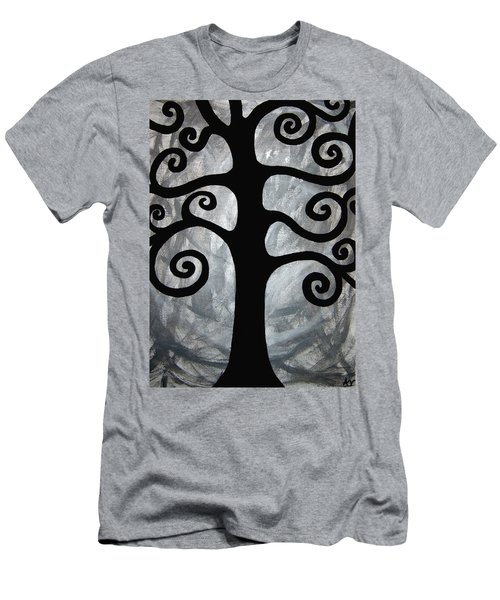 Chaos Tree Men's T-Shirt (Slim Fit) by Angelina Vick