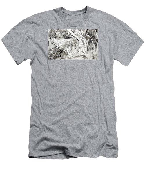 Charcoal Copse Men's T-Shirt (Athletic Fit)