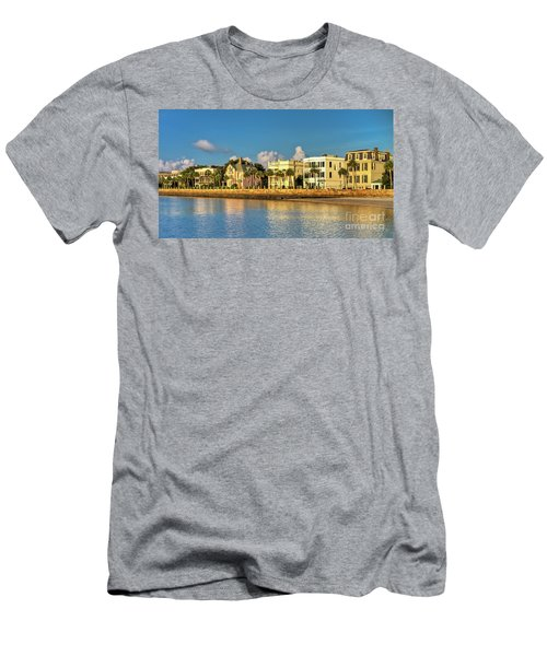Charleston Battery Row Of Homes  Men's T-Shirt (Athletic Fit)