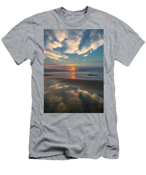 Charleston Coast Sunrise Men's T-Shirt (Athletic Fit)
