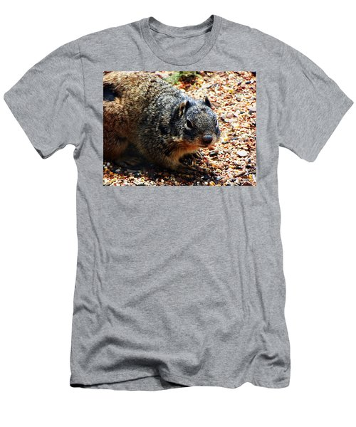 Men's T-Shirt (Slim Fit) featuring the photograph Charlie by Joseph Frank Baraba