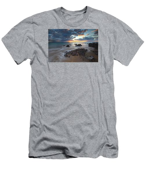 Charlie Young Sunset Men's T-Shirt (Slim Fit) by James Roemmling