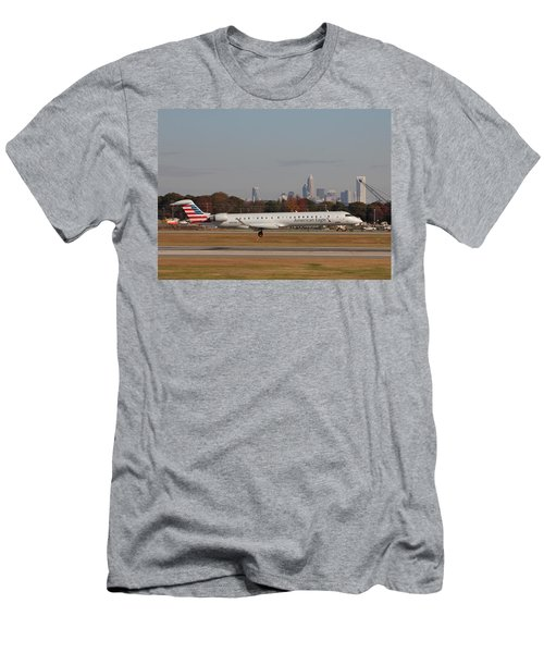 Charlotte Douglas International Airport 17 Men's T-Shirt (Athletic Fit)