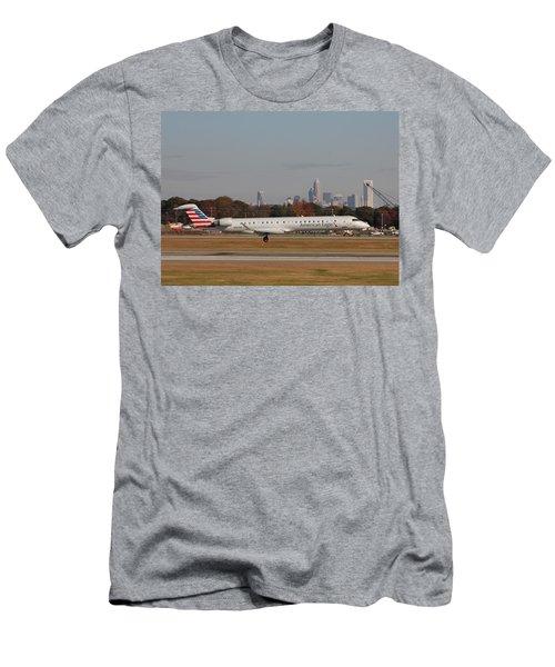 Charlotte Douglas International Airport 17 Men's T-Shirt (Athletic Fit)