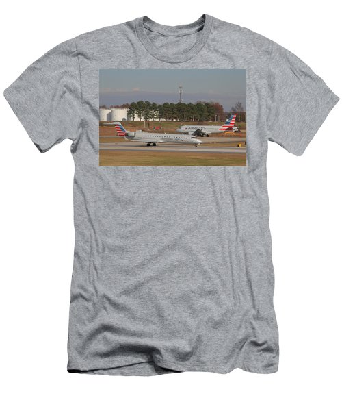 Charlotte Douglas International Airport 21 Men's T-Shirt (Athletic Fit)