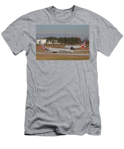 Charlotte Douglas International Airport 21 Men's T-Shirt (Athletic Fit)