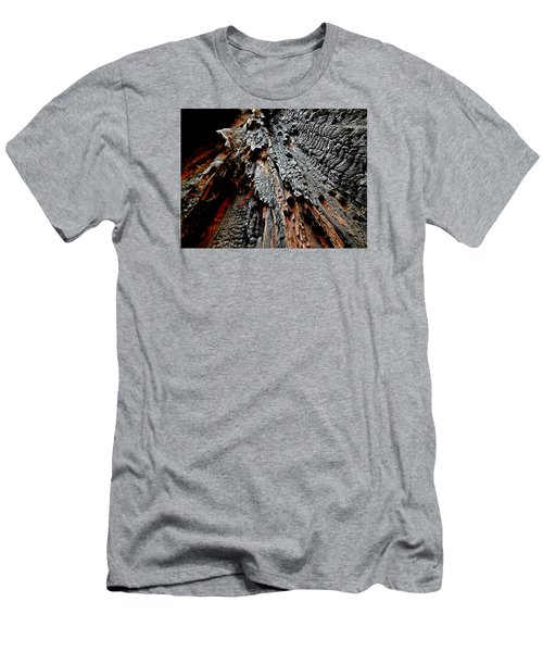 Charred Cedar Men's T-Shirt (Slim Fit) by Brian Chase