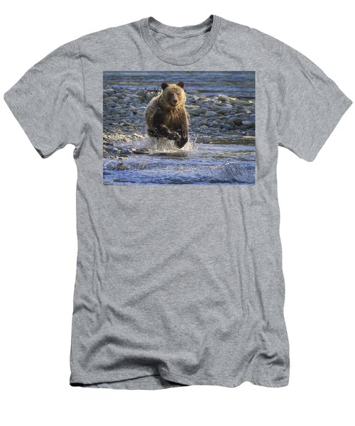 Chasing Salmon Men's T-Shirt (Athletic Fit)