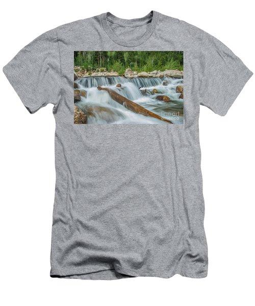 Chasm Falls Men's T-Shirt (Athletic Fit)