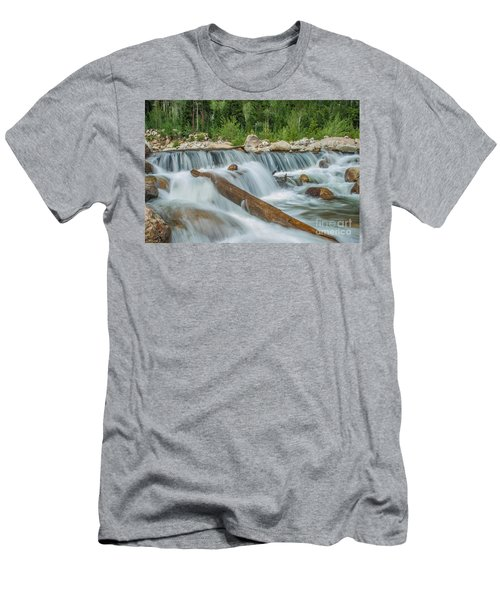 Chasm Falls Men's T-Shirt (Athletic Fit)