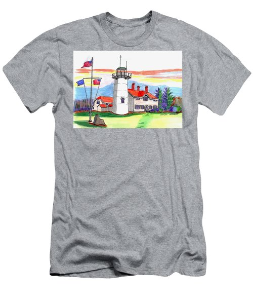 Chatham Lighthouse Men's T-Shirt (Slim Fit) by Paul Meinerth
