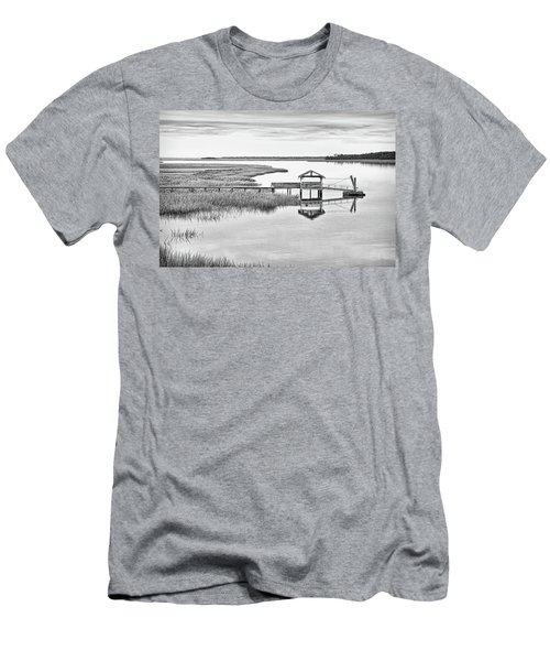 Chechessee Dock Men's T-Shirt (Athletic Fit)