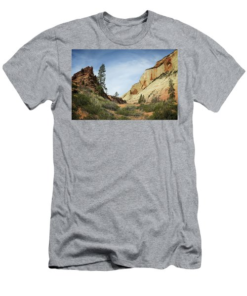 Checkerboard Mesa Men's T-Shirt (Athletic Fit)