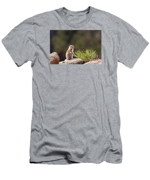 Men's T-Shirt (Slim Fit) featuring the photograph Checking Things Out by Monte Stevens