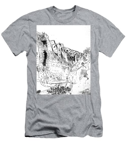 Cheddar Gorge Men's T-Shirt (Athletic Fit)