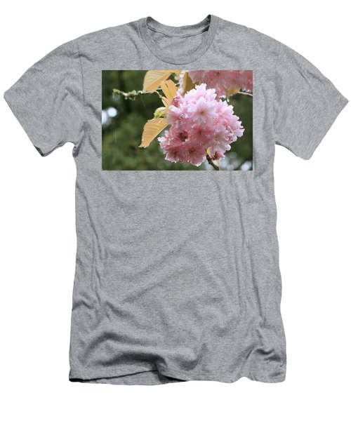 Men's T-Shirt (Athletic Fit) featuring the photograph Cherry Blossom Secrets by Brandy Little