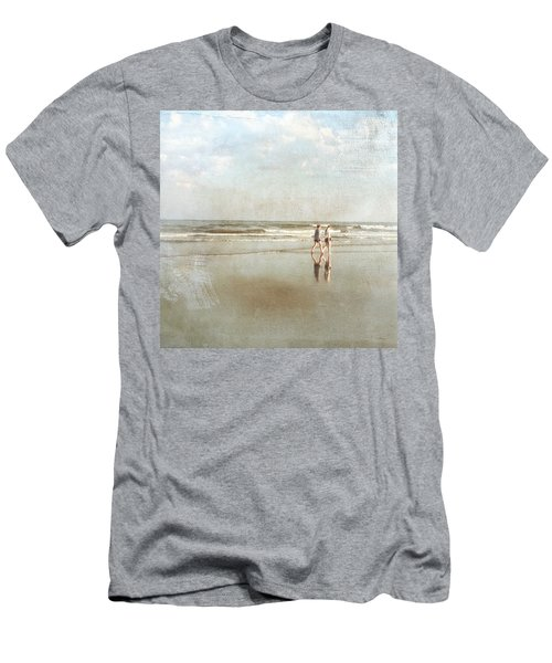 Cherry Grove Beach Walk Men's T-Shirt (Athletic Fit)