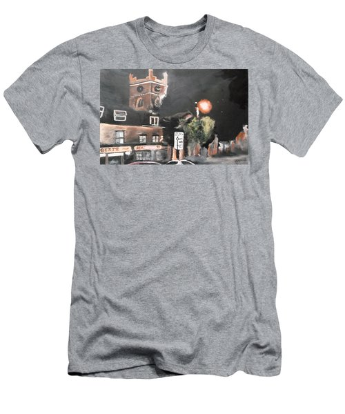 Chertsey At Night 2 Men's T-Shirt (Athletic Fit)