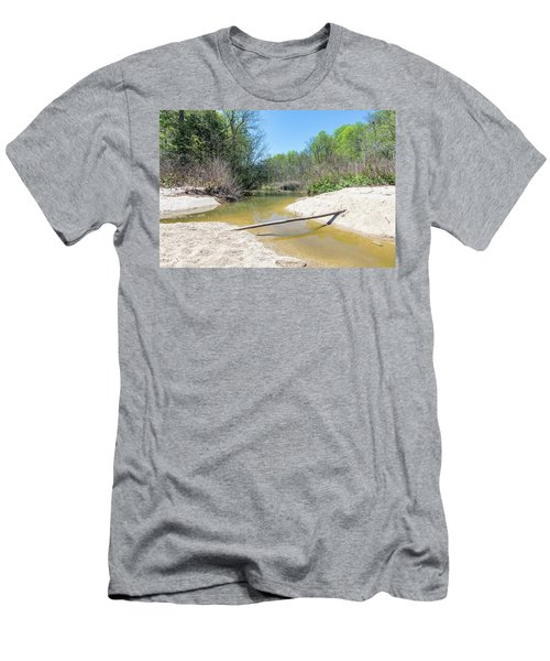 Men's T-Shirt (Athletic Fit) featuring the photograph Chesapeake Tributary by Charles Kraus