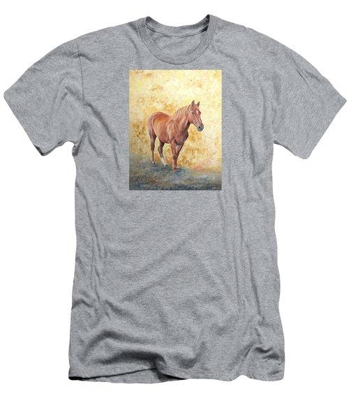 Chestnut Racehose Men's T-Shirt (Athletic Fit)