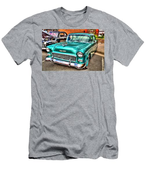 Chevy Cruising 55 Men's T-Shirt (Slim Fit) by Dale R Carlson