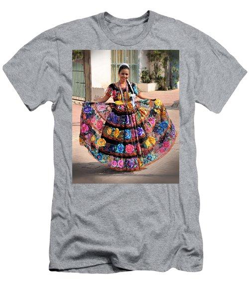 Chiapaneca Dress Men's T-Shirt (Athletic Fit)