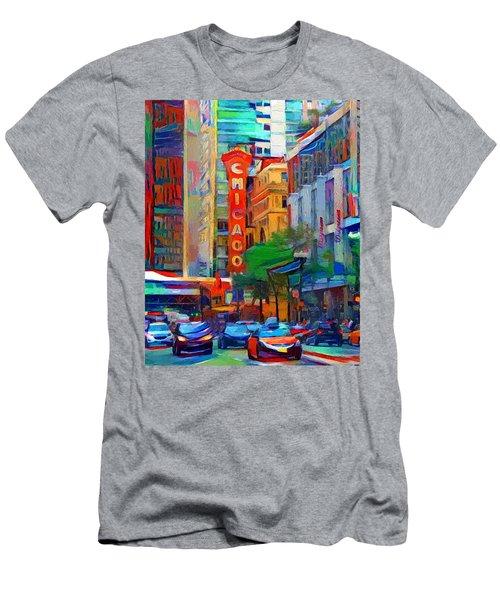 Chicago Colors 3 Men's T-Shirt (Athletic Fit)
