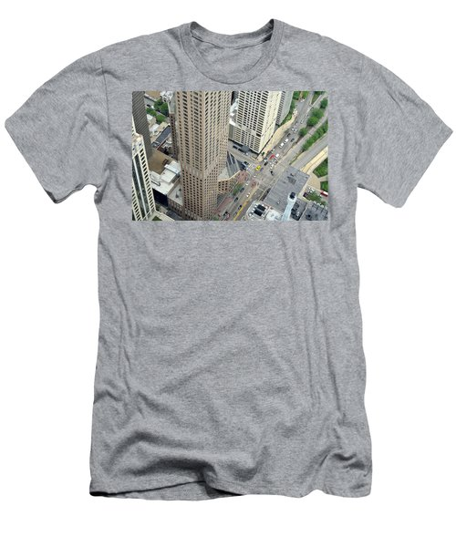 Chicago Streets Men's T-Shirt (Athletic Fit)