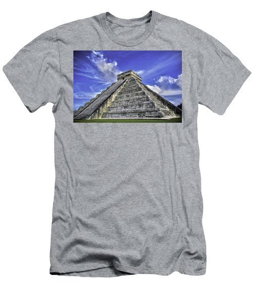 Chichen Itza, El Castillo Pyramid Men's T-Shirt (Athletic Fit)