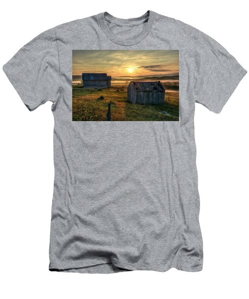 Chicken Creek Schoolhouse Men's T-Shirt (Athletic Fit)