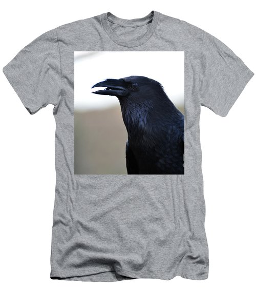 Chihuahua Raven Profile Men's T-Shirt (Athletic Fit)